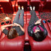 Reclining seats at the AMC movie theater on Broadway at 84th Street.