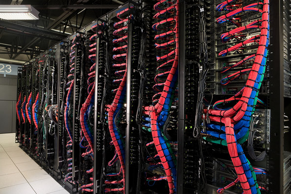 In June, IBM agreed to pay about $2 billion for SoftLayer Technologies, which has a global network of more than a dozen data centers, including this one in Dallas.
