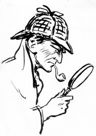 Image credit to the NY Times, as posted in the article in the image link: Sherlock Holmes Is in the Public Domain, American Judge Rules