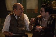 David Cross, left, and Daniel Radcliffe in