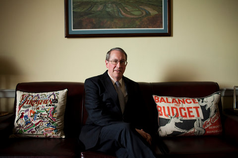 Representative Robert W. Goodlatte in his Washington office.