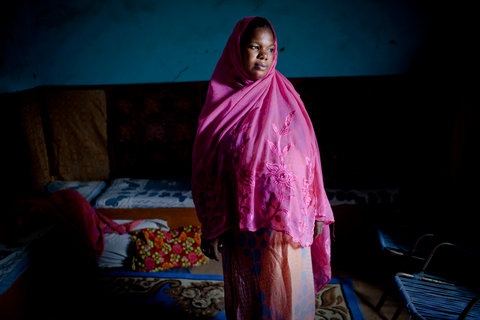 "Niatata Traore, 28, was arrested in Timbuktu for refusing to wear a full hijab while working in the desert heat. ""You couldn't leave the house without your husband,"" she said."