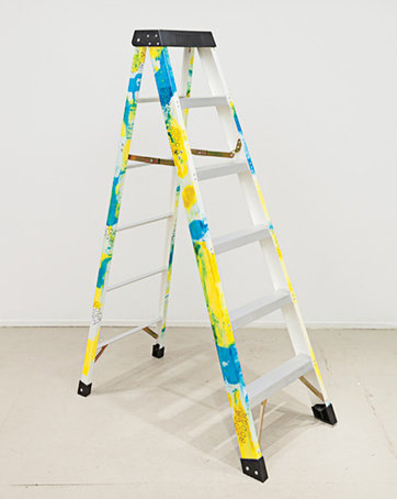 "<strong>Amy Yao</strong> at 47 Canal, ""Skeleton, no. 2 (basic needs and the right to the pursuit of a good life),"" 2013."