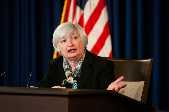 Janet Yellen, chairwoman of the Federal Reserve.