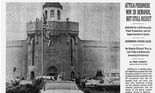 Image result for photos of Attica State Prison