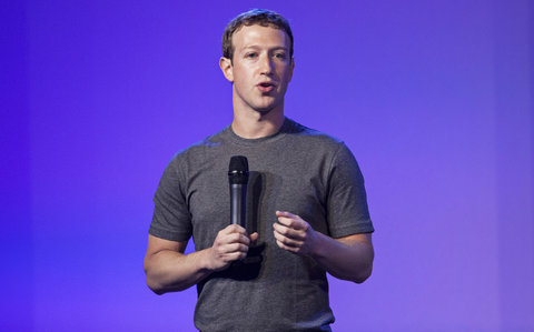 Mark Zuckerberg wears the same style t-shirt every day