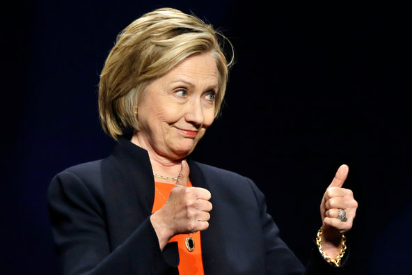 Hillary Rodham Clinton addressed an American Camp Association conference in Atlantic City on Thursday.