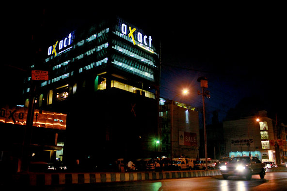 """Axact, which has its headquarters in Karachi, Pakistan, ostensibly operates as a software company. <a href=""""http://www.nytimes.com/2015/05/18/world/asia/fake-diplomas-real-cash-pakistani-company-axact-reaps-millions-columbiana-barkley.html"""">Related Article</a>"""