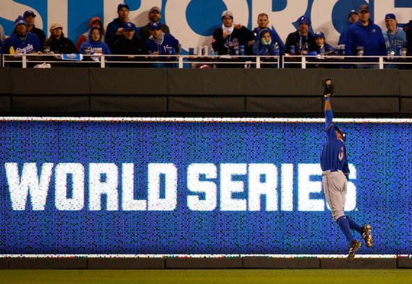 Image result for 2015 world series game 1 granderson catch