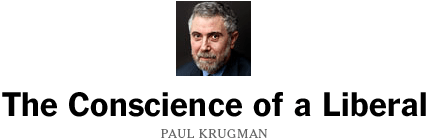 Paul Krugman - New York Times Blog
