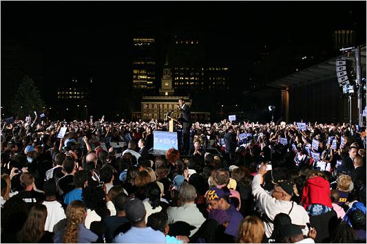 Obama Philadelphia Rally