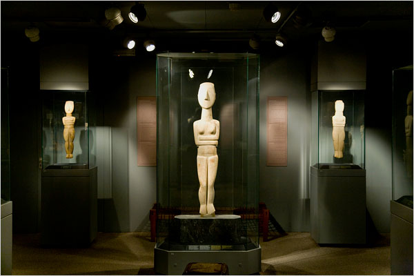 The Museum of Cycladic Art has possibly the worlds largest collection of art from the island group that includes Mykonos as well as Delos, Milos, Naxos and Siros.