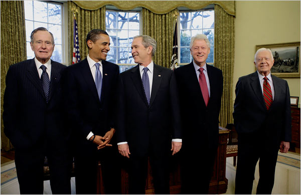 Obama laughing it off