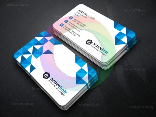 Activelink business card template graphic templates 01 business card templateg flashek Gallery
