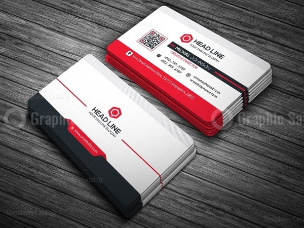 Headline business card template graphic templates 01business card templateg flashek Gallery