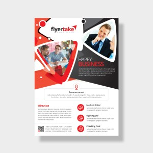 Achelous Stylish Corporate Flyer Template
