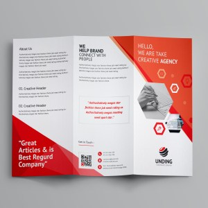 Aeolus Corporate Tri-Fold Brochure Template
