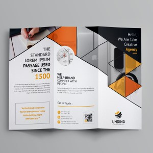 Alastor Corporate Tri-Fold Brochure Template