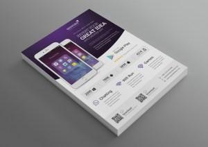 Application Modern Professional Business Flyer Template