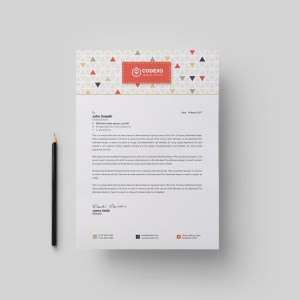 Ares Stylish Corporate Letterhead Template