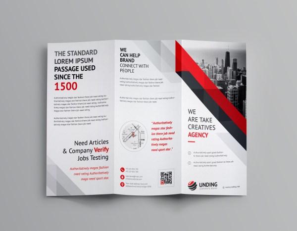 Aristaeus Corporate Tri-Fold Brochure Template