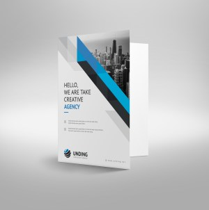 Aristaeus Modern Corporate Presentation Folder Template