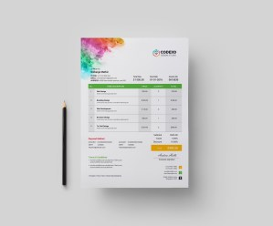 Artemis Corporate Invoice Template