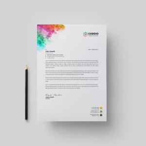 Artemis Modern Corporate Letterhead Template