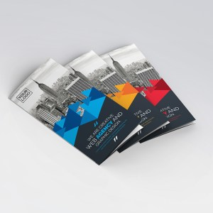 Artemis Stylish Tri-Fold Brochure Template