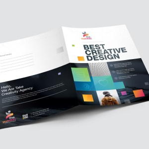 Best Creative Presentation Folder Template