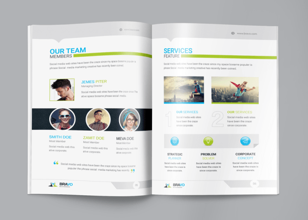 Bravo Corporate Business Proposal Template