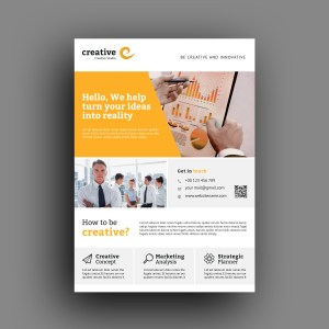 Calgary Modern Professional Business Flyer Template