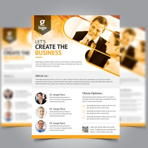 Charon Professional Corporate Flyer Template