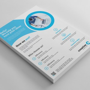 Chicago Clean Professional Business Flyer Template
