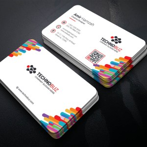 Colorful Elegant Corporate Business Card Template