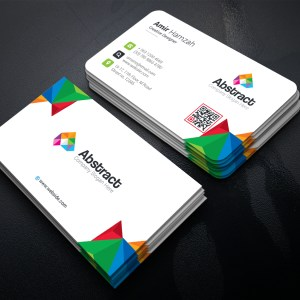 Colorful Premium Corporate Business Card Template