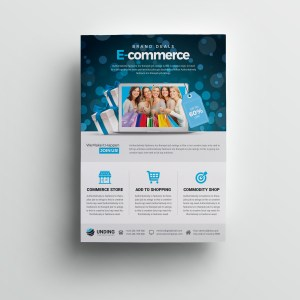 Commerce Elegant Premium Business Flyer Template