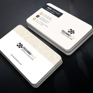 Creative Corporate Visiting Card Template
