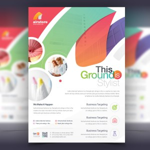 Dionysus Elegant Corporate Flyer Template