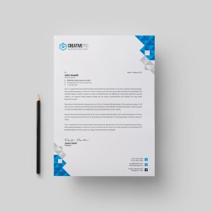 Ela Professional Corporate Letterhead Template