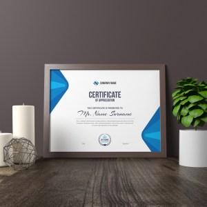 Elegant Corporate Certificate Template