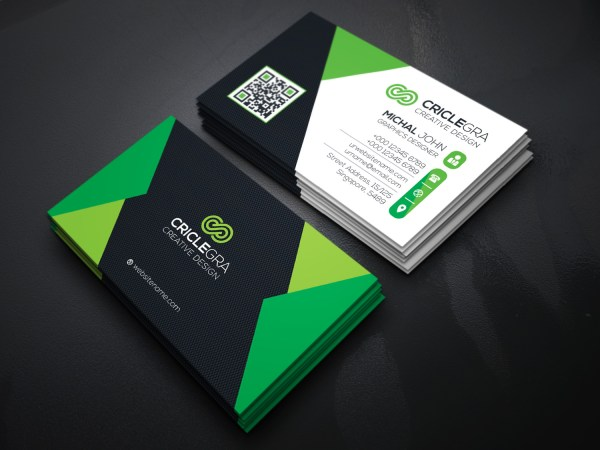 Elegant Visiting Card Template