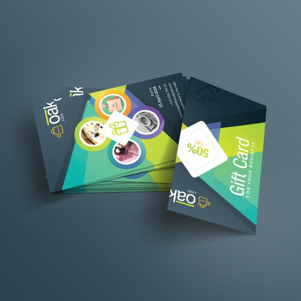 Excellent Corporate Gift Card Template