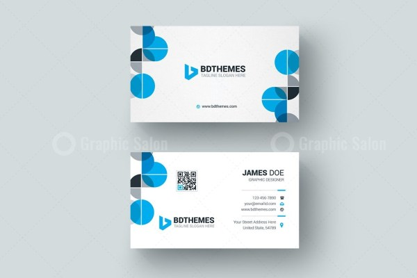Health Business Card Design