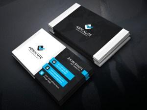 Iron Stylish Corporate Business Card Template