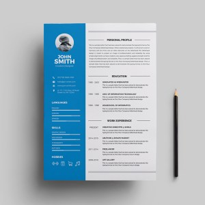 Jupiter Resume Template