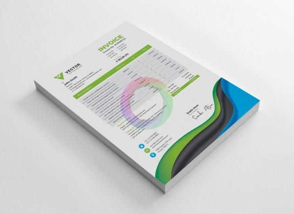 Medical Corporate Identity Pack Design Template 4