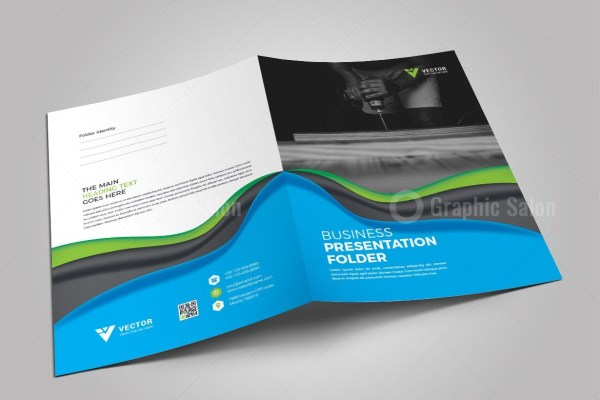 Medical Presentation Folder Template