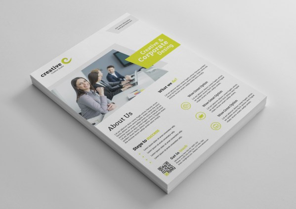 Melbourne Modern Professional Flyer Template