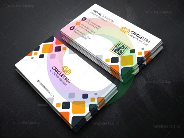 Mosaic Business Card Template